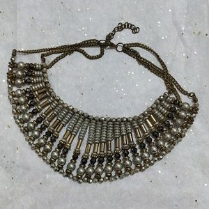 Egyptian inspired collar necklace